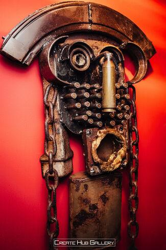 Make Art Not War, installation view