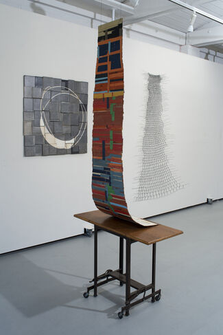 Emily Payne: Heave Heft | Weave Weft, installation view