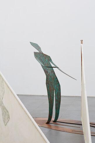 Windsurfers, installation view