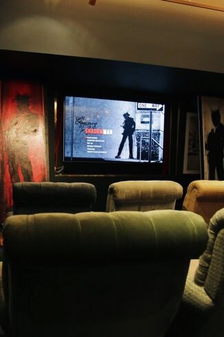 'Shadowman' at the Groucho Club, installation view