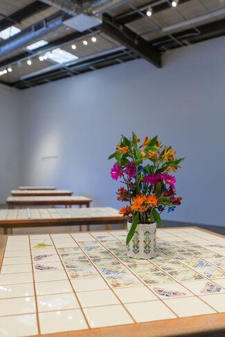 Cassandra Emswiler Burd: Flowers of War, installation view