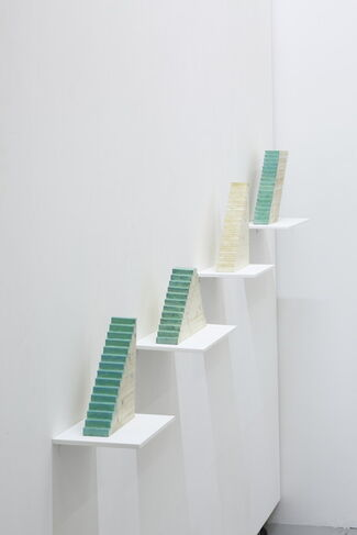 Tatsuo Kawaguchi: Vertical Time, or Stairway Time, installation view