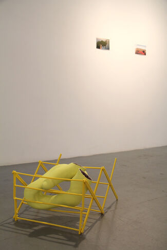 'lateral drift', installation view