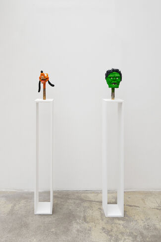 GILLES BARBIER Artist impression / Project room : THEO MICHAEL Arthropodos, installation view