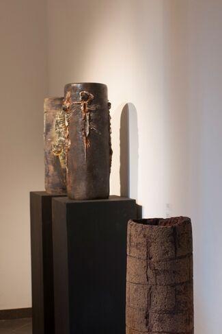 La ceramica prende forma, installation view