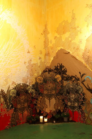 SWOON: Honeycomb, installation view