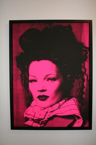 """""""40"""" - A Kate Moss Retrospective by Russell Marshall, installation view"""