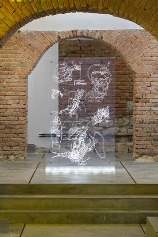 Romana Drdová: Writing Without Bones, installation view