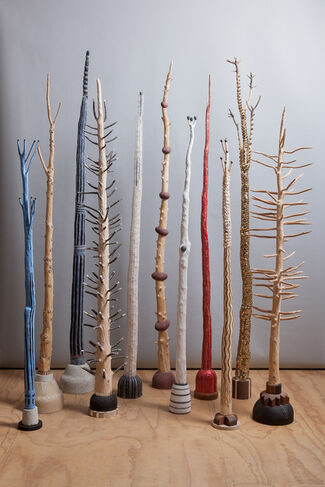 Christmas Trees, installation view