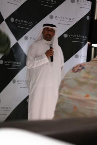 Michel Bizet at Pullman Dubai Deira City Center Hotel, installation view