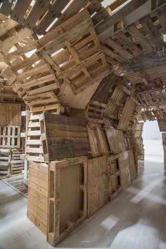 Tadashi Kawamata - Stairs, installation view