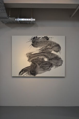 """To Commemorate The 30th Anniversary of Yu-ichi Inoue's Death """"his ink"""", installation view"""