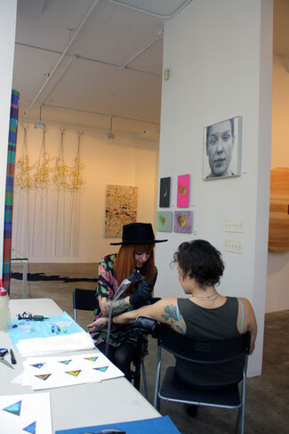 echo Art Fair Preview/NYC, installation view
