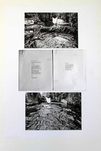 The sun went in, the fire went out: landscapes in film, performance and text, installation view