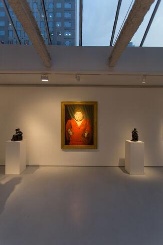 Botero Beauty in Volume II, installation view