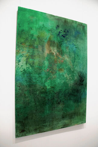 """Ibiza Island"" (III) by Catherine Javel, installation view"