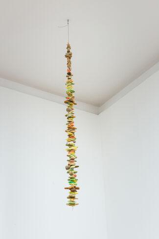 Latifa Echakhch and Miroslaw Balka - Dvir Gallery Brussels @ Micheline Szwajcer, Antwerp, installation view