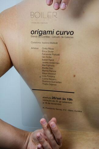 Origami Curvo, installation view