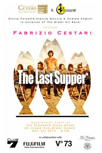 Fabrizio Cestari:  The Last Supper, installation view