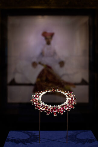 East Meets West: Jewels of the Maharajas from the Al Thani Collection, installation view