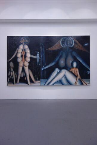 Group Exhibition - Takahiro Komuro / Kanta Matsuo / Taku Obata, installation view