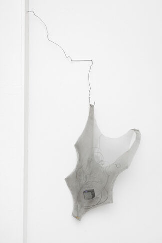 Sandra Vaka Olsen: through air, installation view