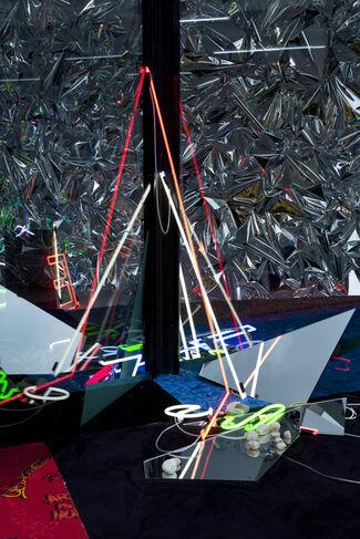 Anselm Reyle – Elemental Threshold, installation view