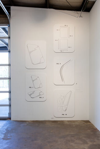 FRANCISCO MORENO: SLATES, installation view