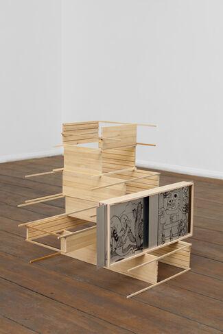 INTER-PASSION by Elise Florenty & Marcel Türkowsky, installation view