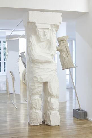 Ludovica Carbotta. Die Telamonen (The Telamons), installation view