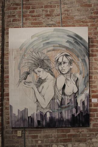 Figuratively Speaking: Brian Batt, Christina Angelina, Erin Hammond, installation view