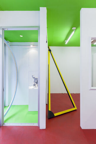 The Ceiling Should Be Green, installation view