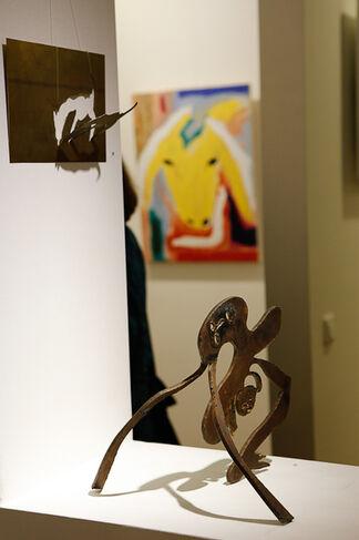 Menashe Kadishman - Morning Light, installation view