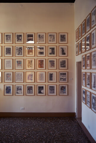 Iraq Pavilion, installation view