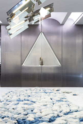 """Collection #2 """"Progressland"""" Curated by Andrew Zuckerman, installation view"""