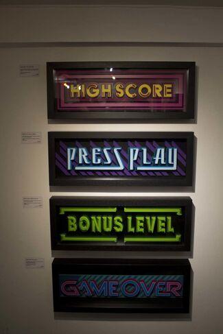 Press Play, installation view