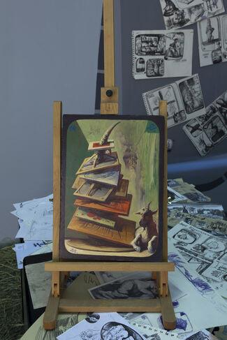 "Egor Koshelev ""Pictures from the Underground"", installation view"