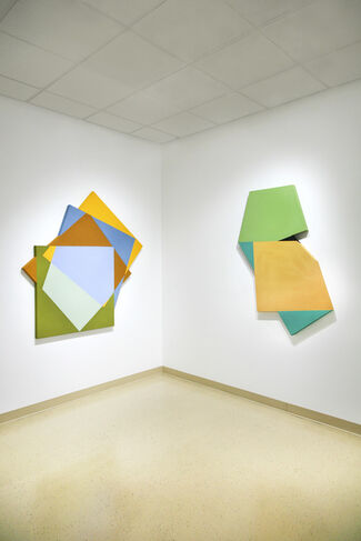 Mokha Laget: In Shape, In Color, installation view