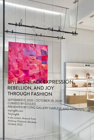 STYLING: BLACK EXPRESSION, REBELLION, JOY THROUGH FASHION, installation view
