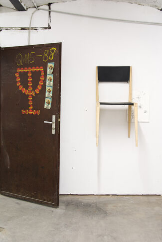 see that horsey it aint shiny, installation view