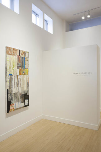 Mike Henderson: Traces of Places, installation view