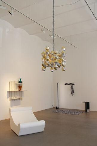 Esther Stocker im Dialog mit: breadedEscalope, chmara.rosinke, Patrick Rampelotto, Klemens Schillinger, installation view