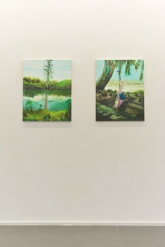 """Group Show: """"Midday Summer Dream"""", installation view"""