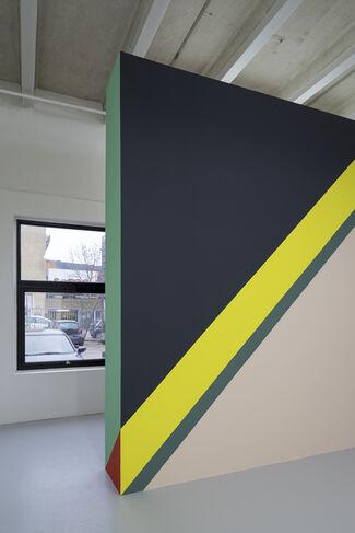 Lothar Götz - Backstage, installation view