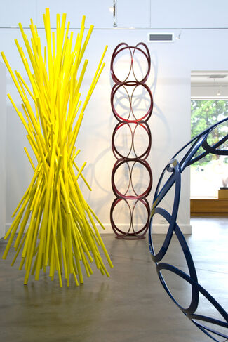 Drawing In Space- Sculptures by Shayne Dark, installation view