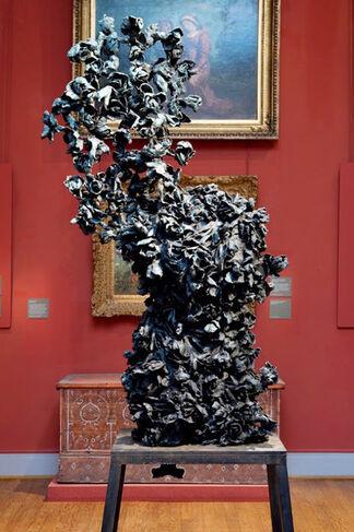 """""""Eugène Delacroix. Des fleurs en hiver. Othoniel, Creten"""" at Musee Eugene Delacroix Paris, France, installation view"""
