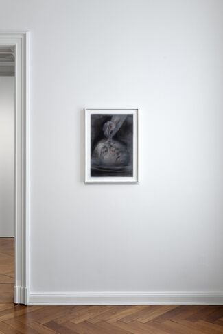 Both Eyes in My Two Hands, installation view