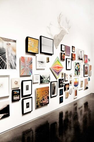 """""""Deck the Walls!"""" - Group Show, installation view"""