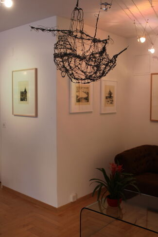 SUBAQUATIC with works by Artem Mirolevich and Alexander Ponomarev, installation view