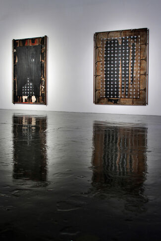 Ed Moses: Now And Then, installation view